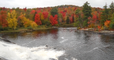 Lampson Falls in early October