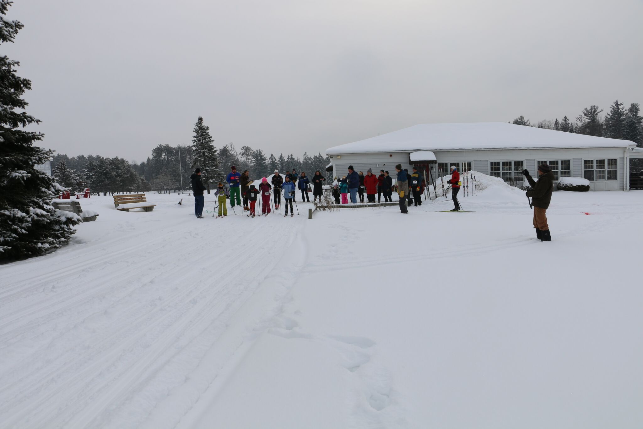 Ski race at the Best Western