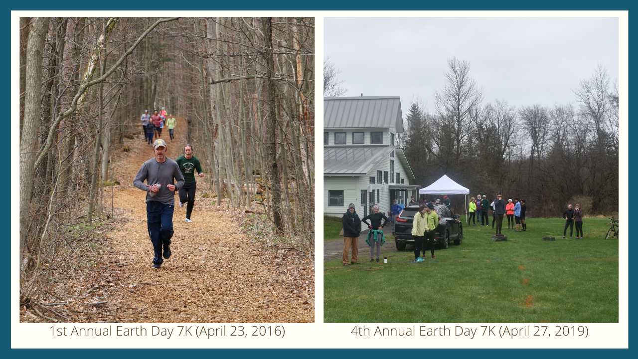 The Annual Earth Day 7K through the years