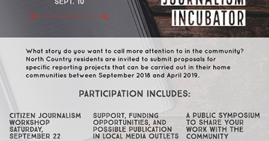 St. Lawrence Citizen Journalism Incubator