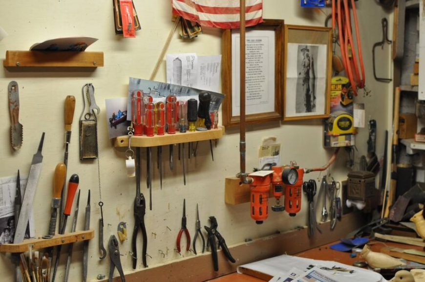 Bill (Dick) Hollis' tools