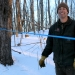 Maple producer Andy Hurlbut at his maple farm.
